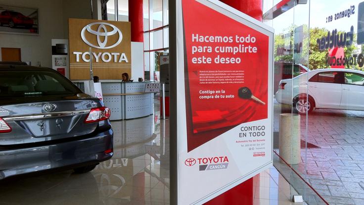 Toyota anuncio foto 1