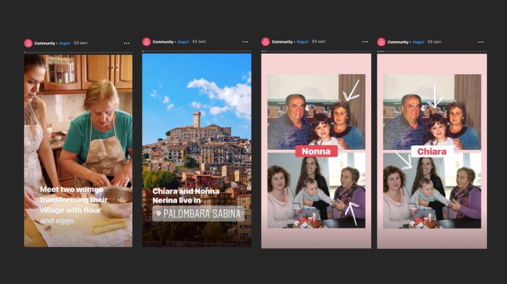 airbnb historia comunidad nonna italia